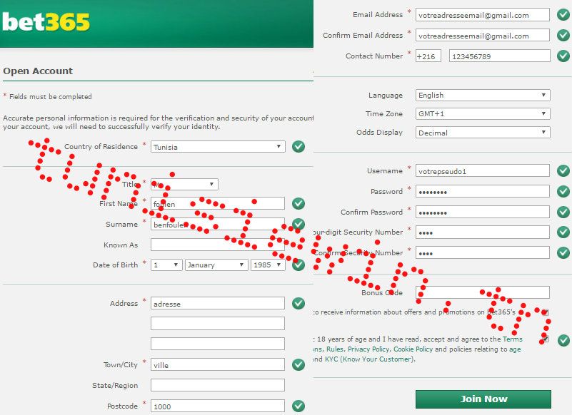 tunisiewin compte bet365 inscription tunisie