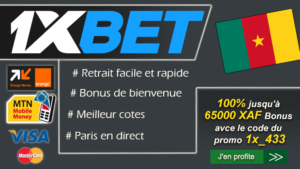 1xbeet inscription bonus cameroun