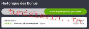 netbet code bonus tunisie