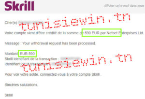 netbet retrait skrill tunisie