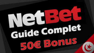inscription netbet et code bonus en tunisie